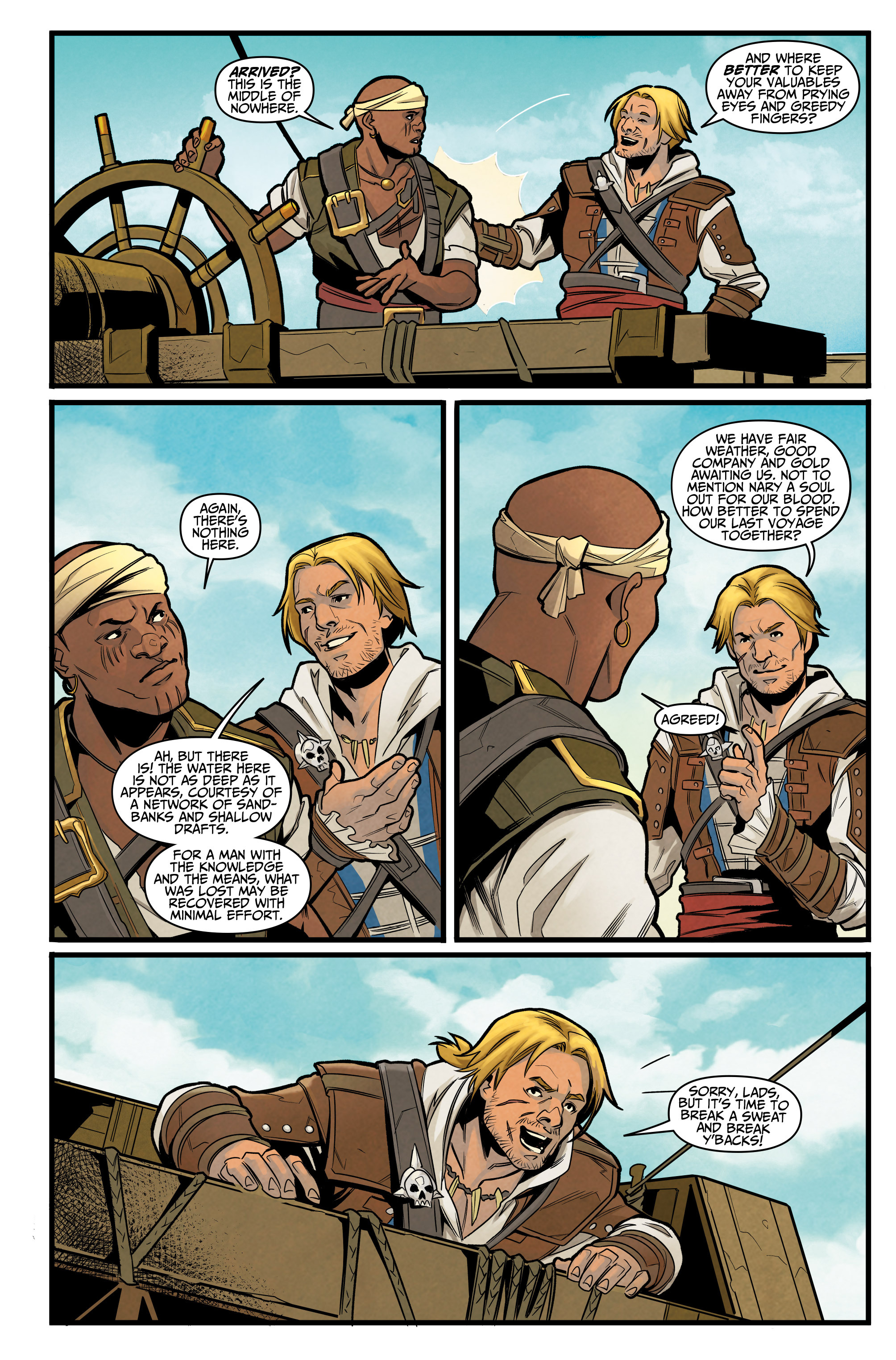 Read online Assassin's Creed: Reflections comic -  Issue #3 - 5
