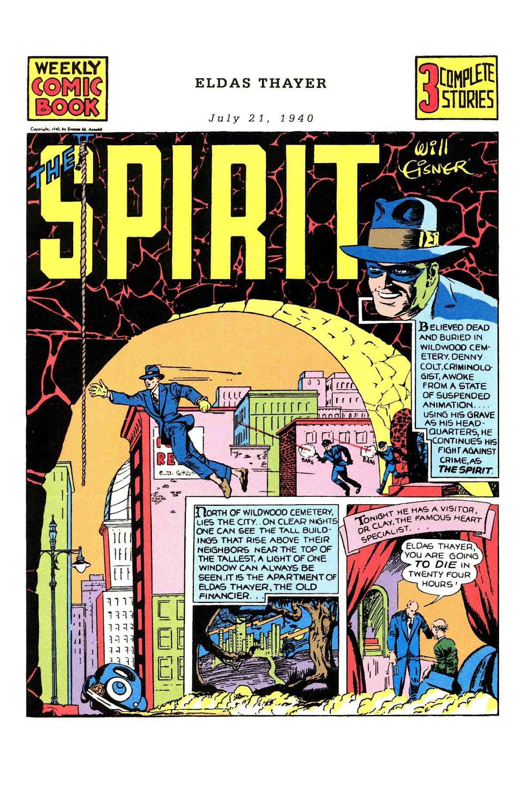 Read online Will Eisner's The Spirit Archives comic -  Issue # TPB 1 (Part 1) - 51