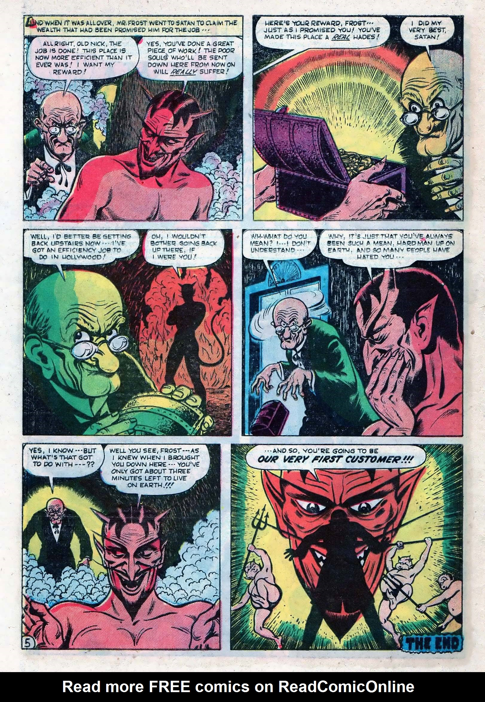 Read online Adventures into Weird Worlds comic -  Issue #10 - 31
