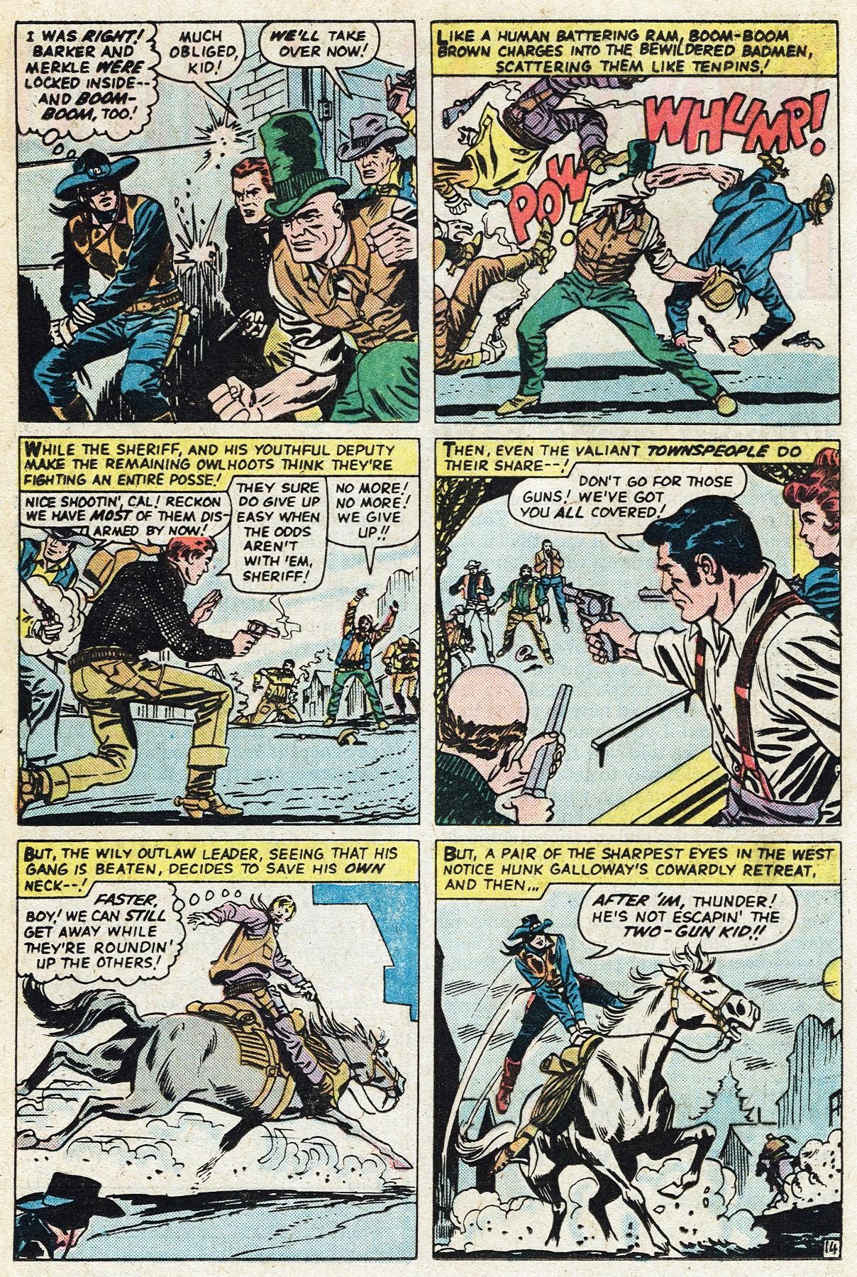 Read online Two-Gun Kid comic -  Issue #122 - 24