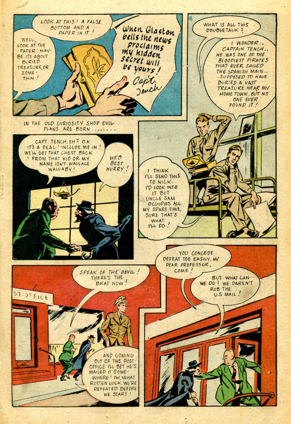 Read online Shadow Comics comic -  Issue #51 - 28