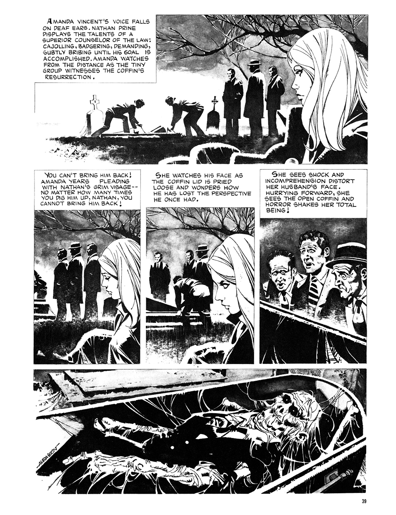 Read online Eerie Archives comic -  Issue # TPB 8 - 40