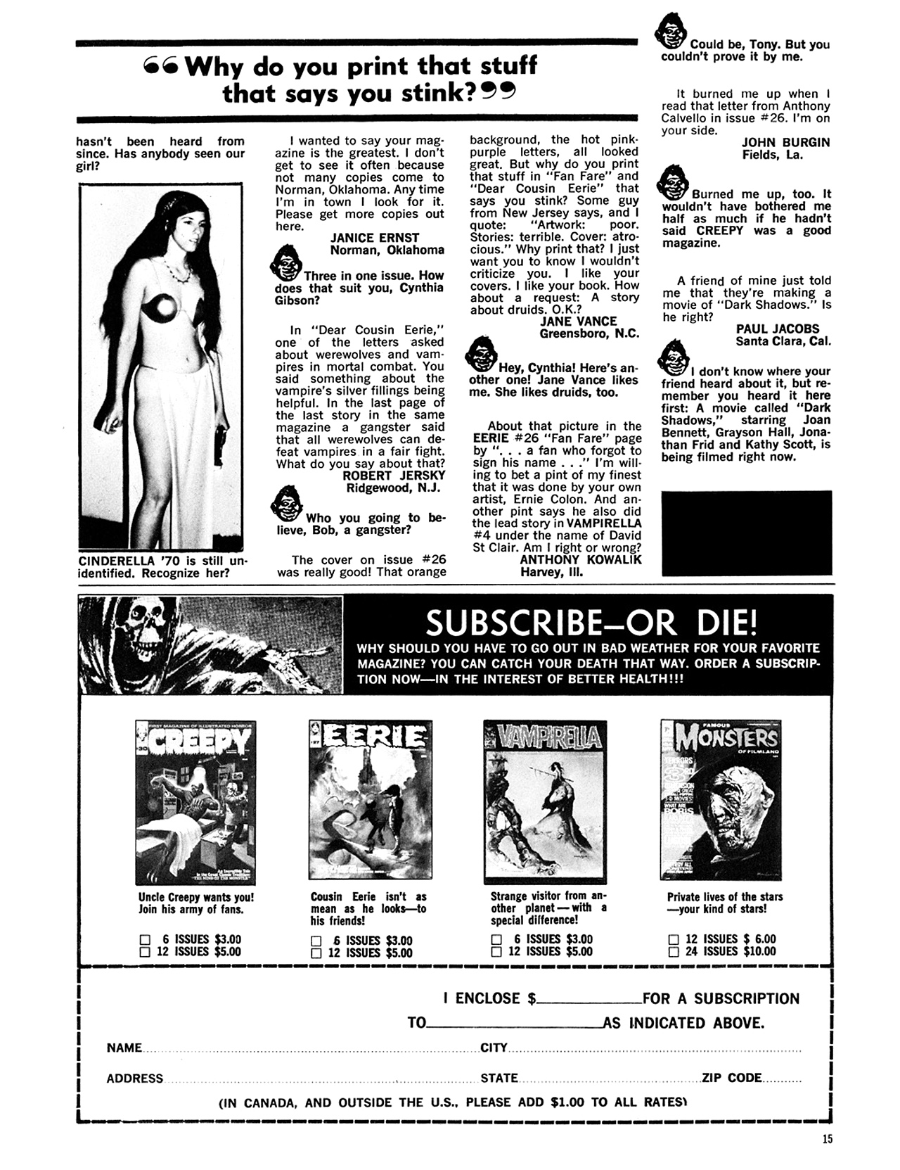 Read online Eerie Archives comic -  Issue # TPB 6 - 16
