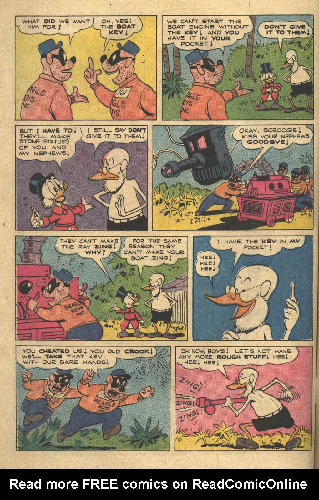 Read online Uncle Scrooge (1953) comic -  Issue #111 - 32