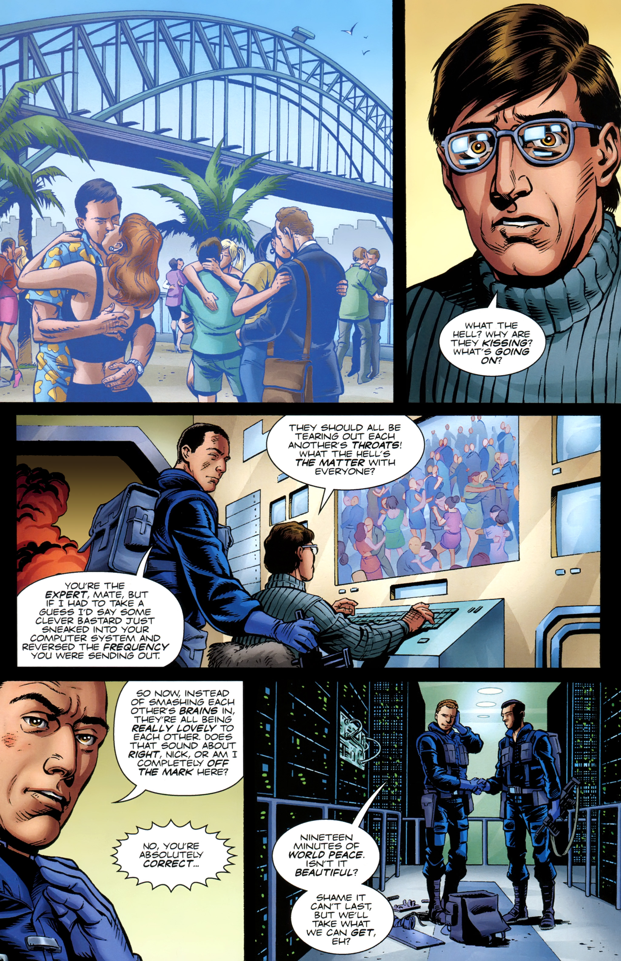 Read online Secret Service comic -  Issue #6 - 25