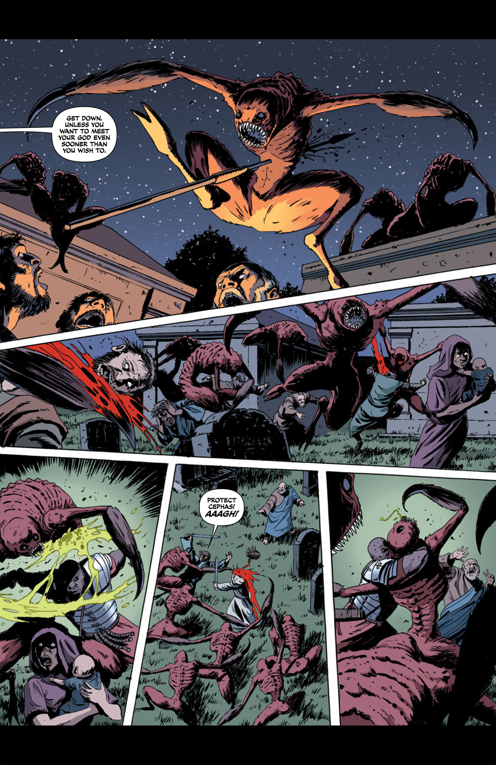 Read online Aquila comic -  Issue #2 - 27