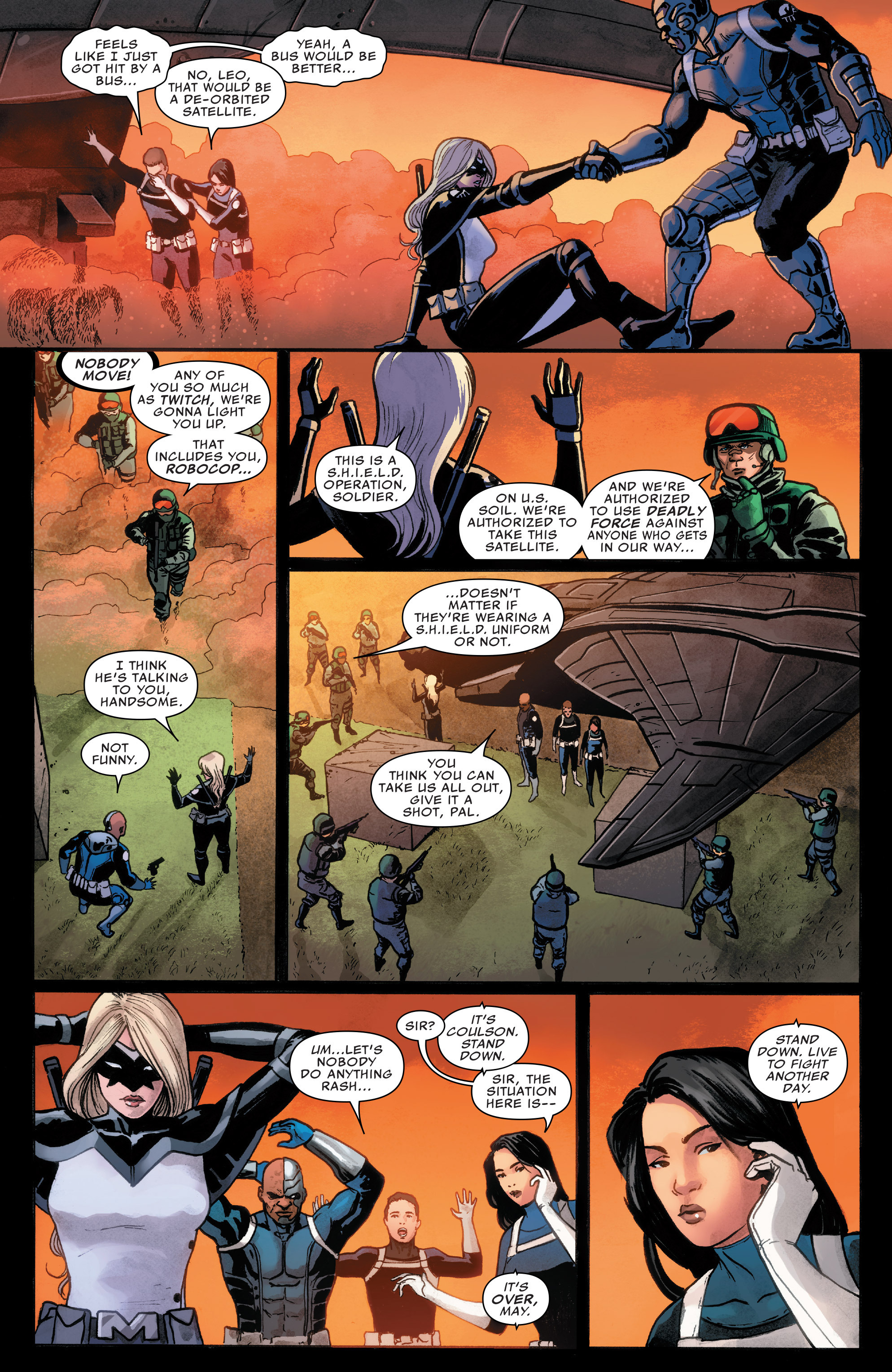 Read online Agents of S.H.I.E.L.D. comic -  Issue #7 - 5