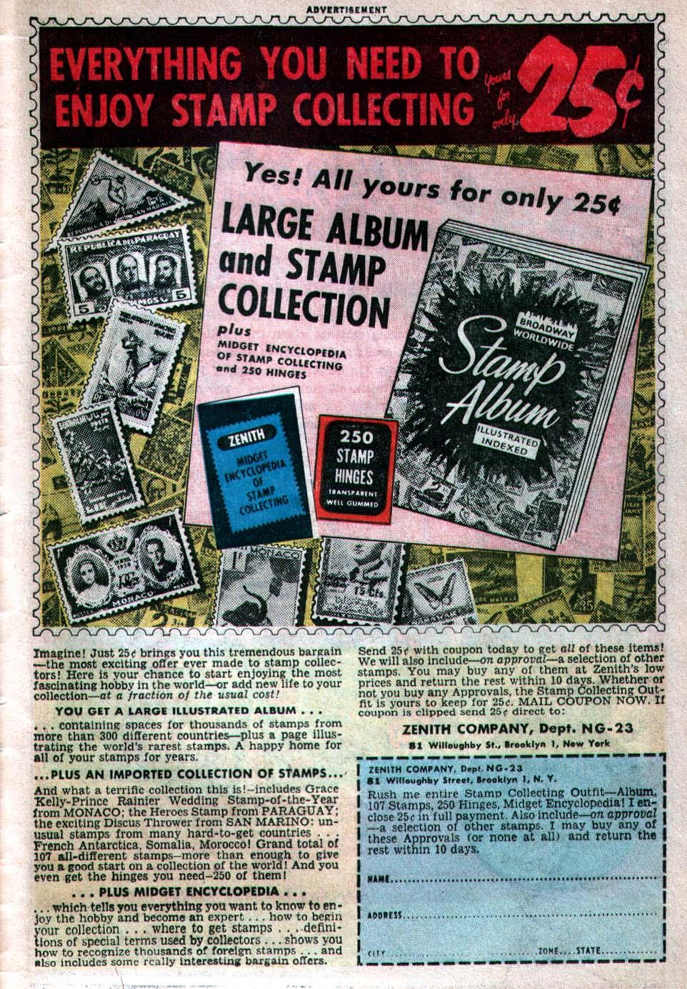 Read online Adventure Comics (1938) comic -  Issue #260 - 33
