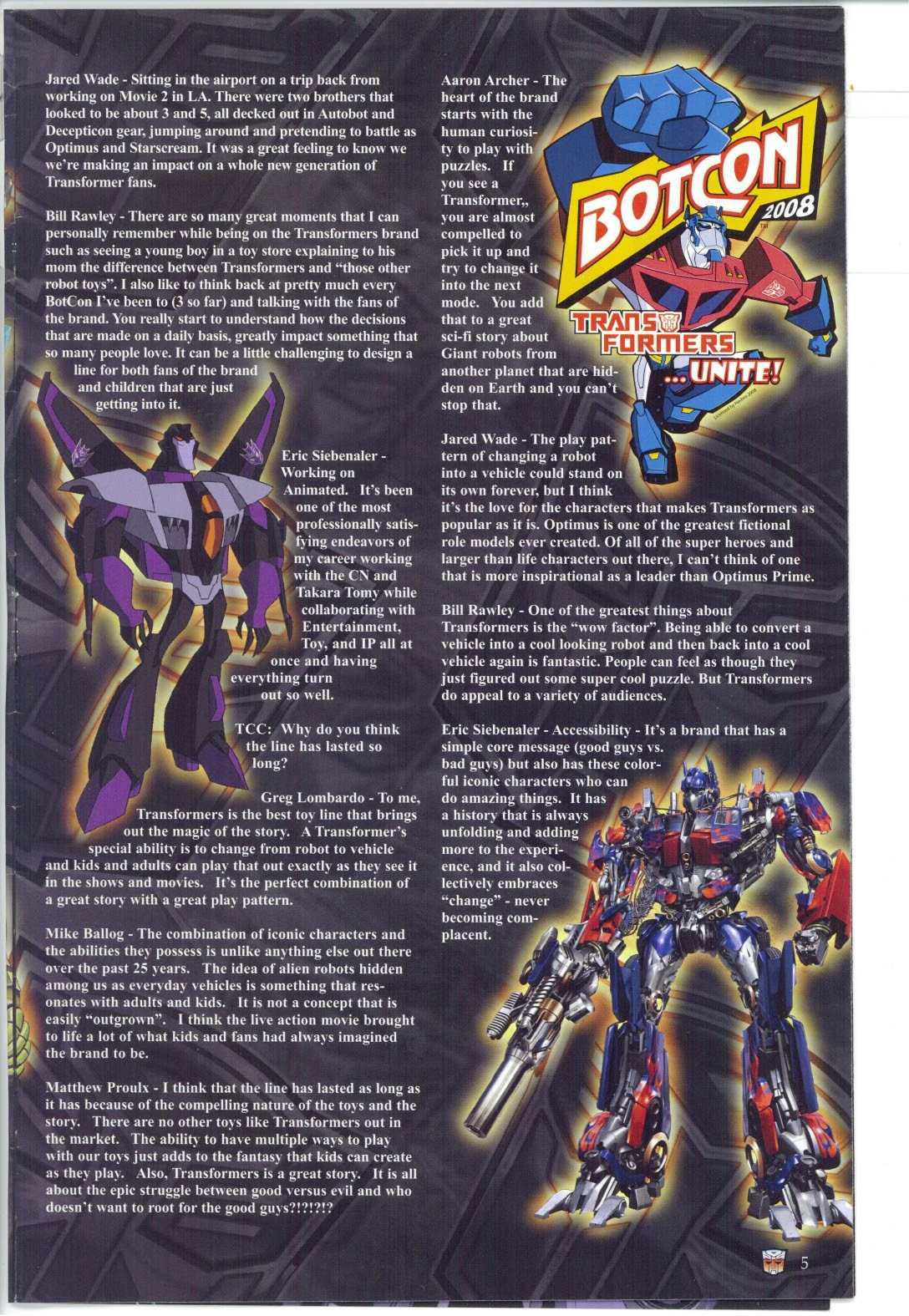Read online Transformers: Collectors' Club comic -  Issue #25 - 5