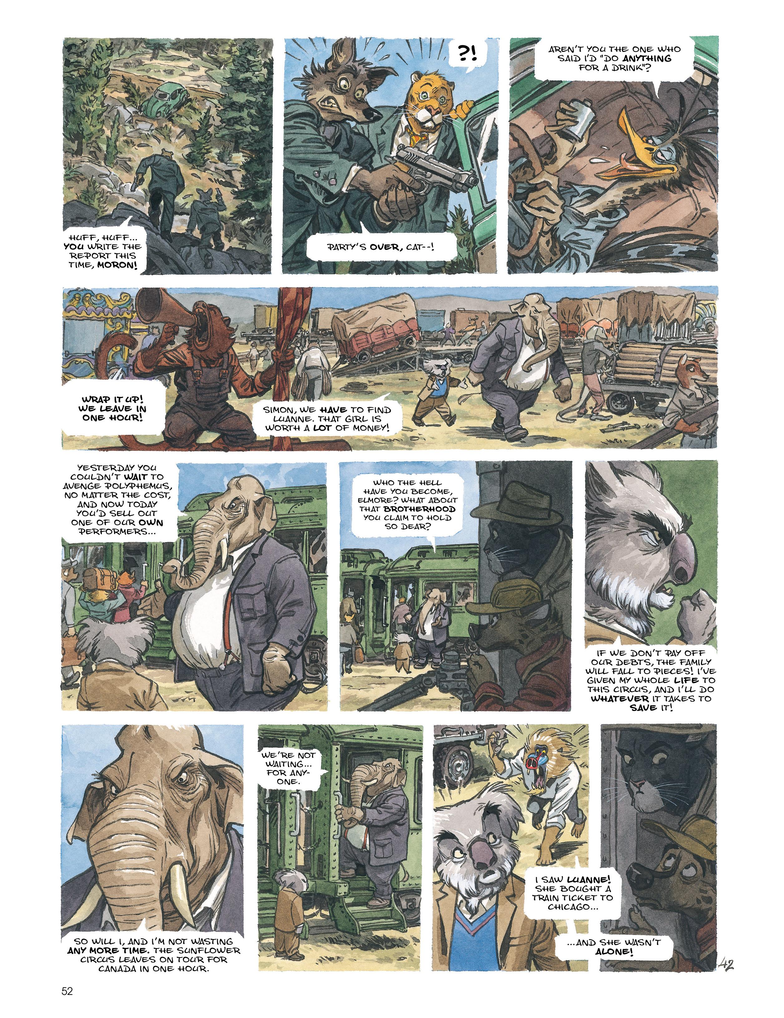 Read online Blacksad: Amarillo comic -  Issue # Full - 51
