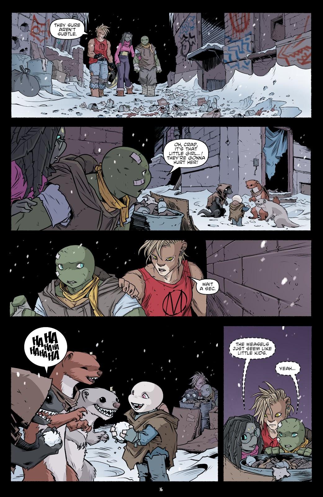Read online Teenage Mutant Ninja Turtles (2011) comic -  Issue #103 - 18