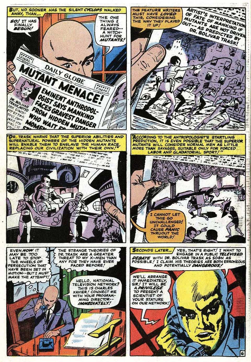 Uncanny X-Men (1963) 68 Page 7