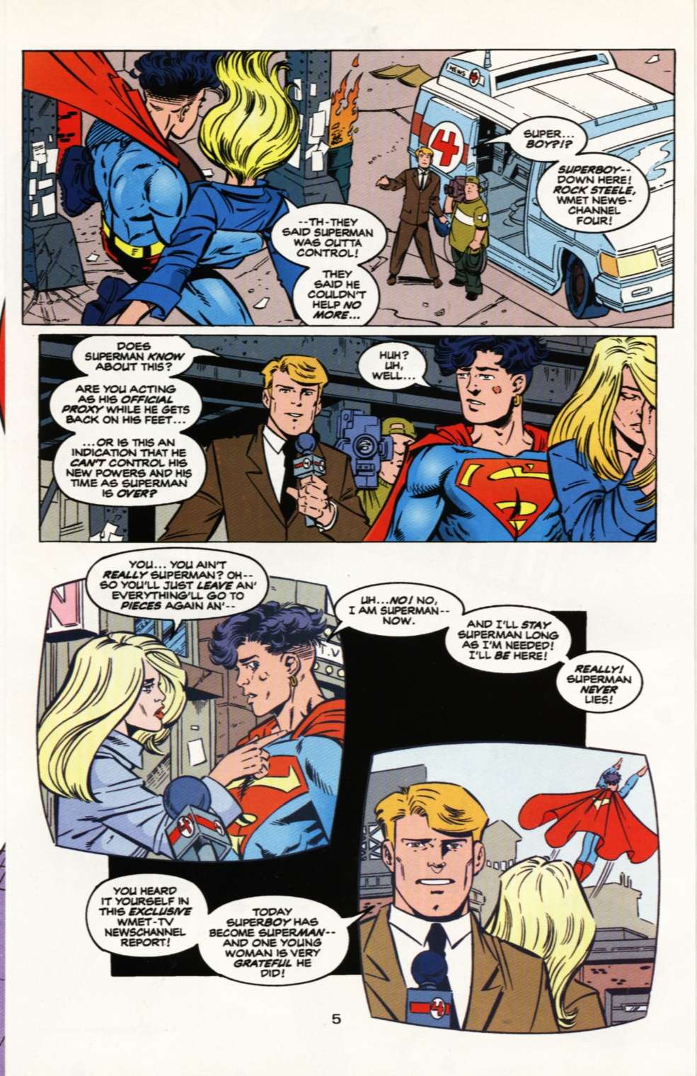 Read online Superboy & The Ravers comic -  Issue #9 - 6