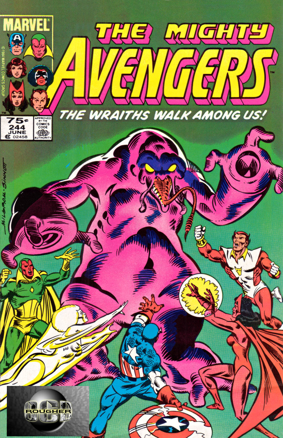 The Avengers (1963) 244 Page 1