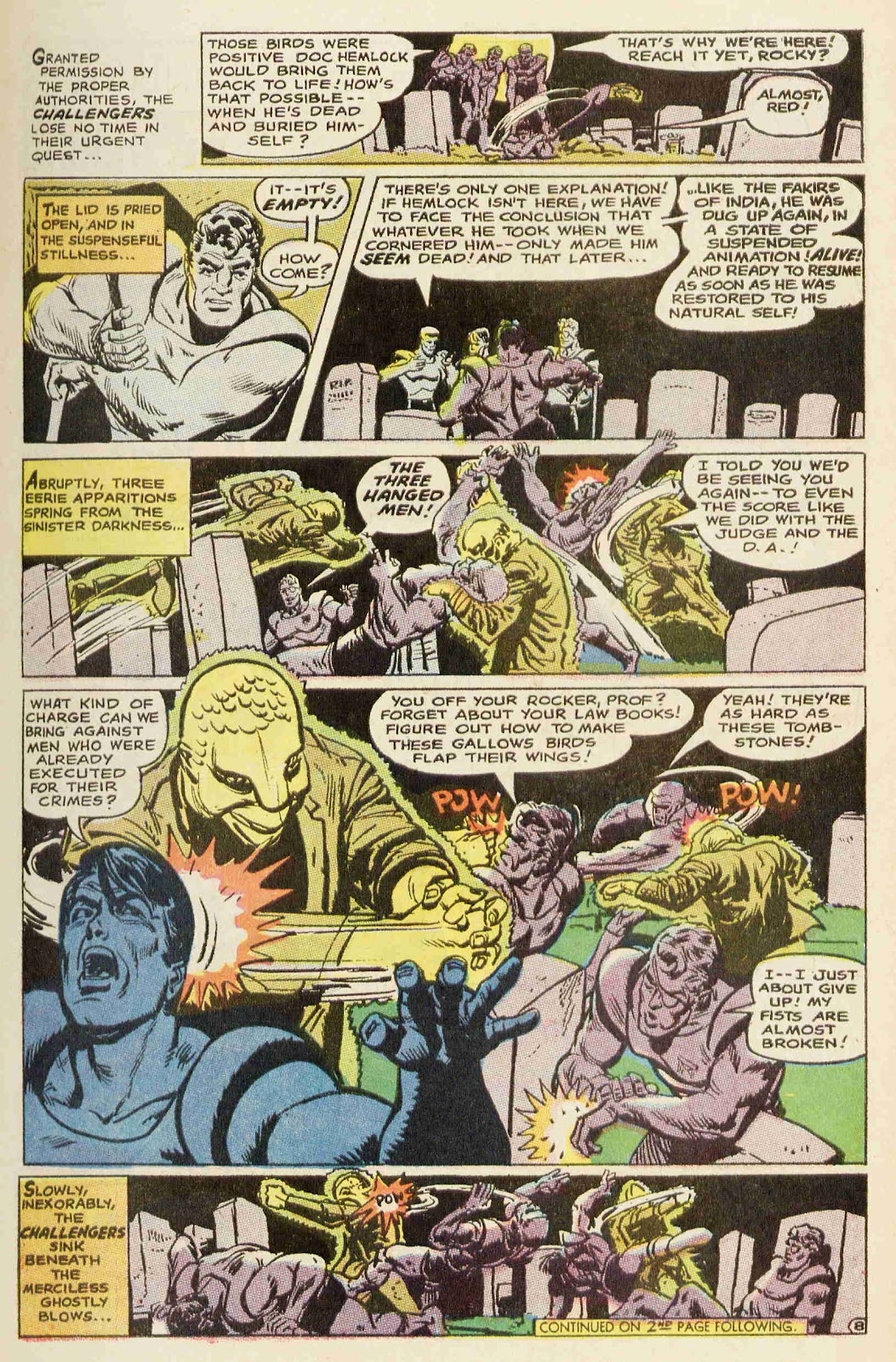 Challengers of the Unknown (1958) issue 64 - Page 9