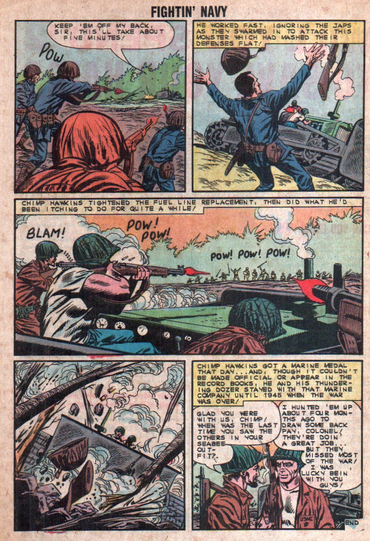 Read online Fightin' Navy comic -  Issue #108 - 32