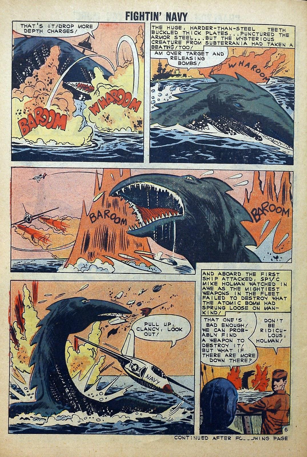 Read online Fightin' Navy comic -  Issue #99 - 30