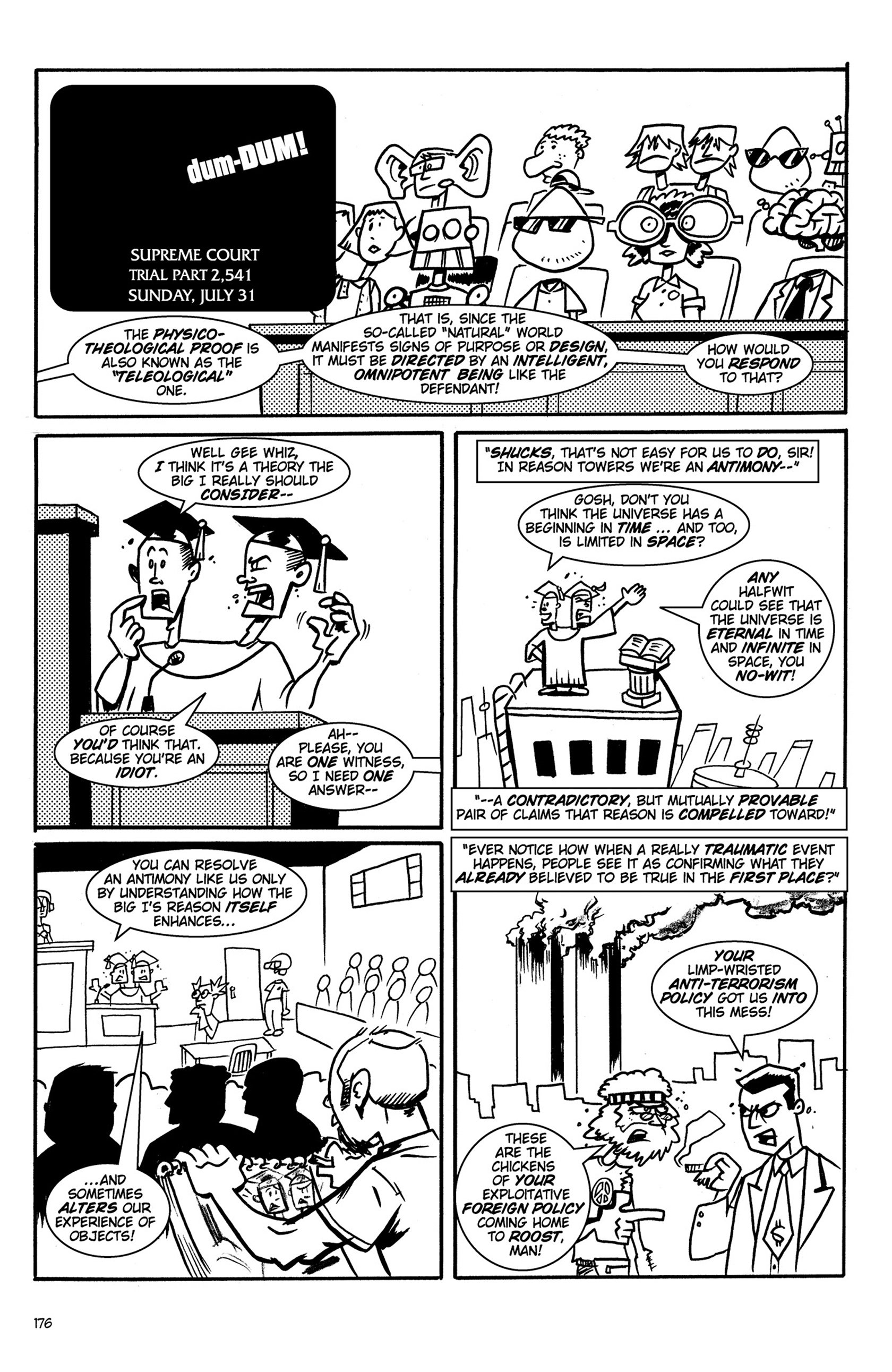 Read online Action Philosophers! comic -  Issue #Action Philosophers! TPB (Part 2) - 4