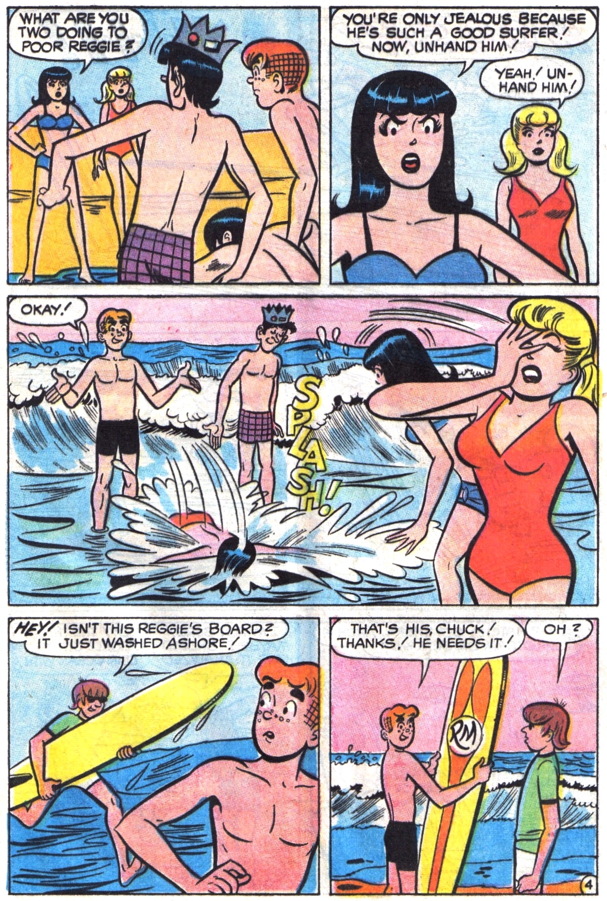 Read online Archie (1960) comic -  Issue #195 - 16