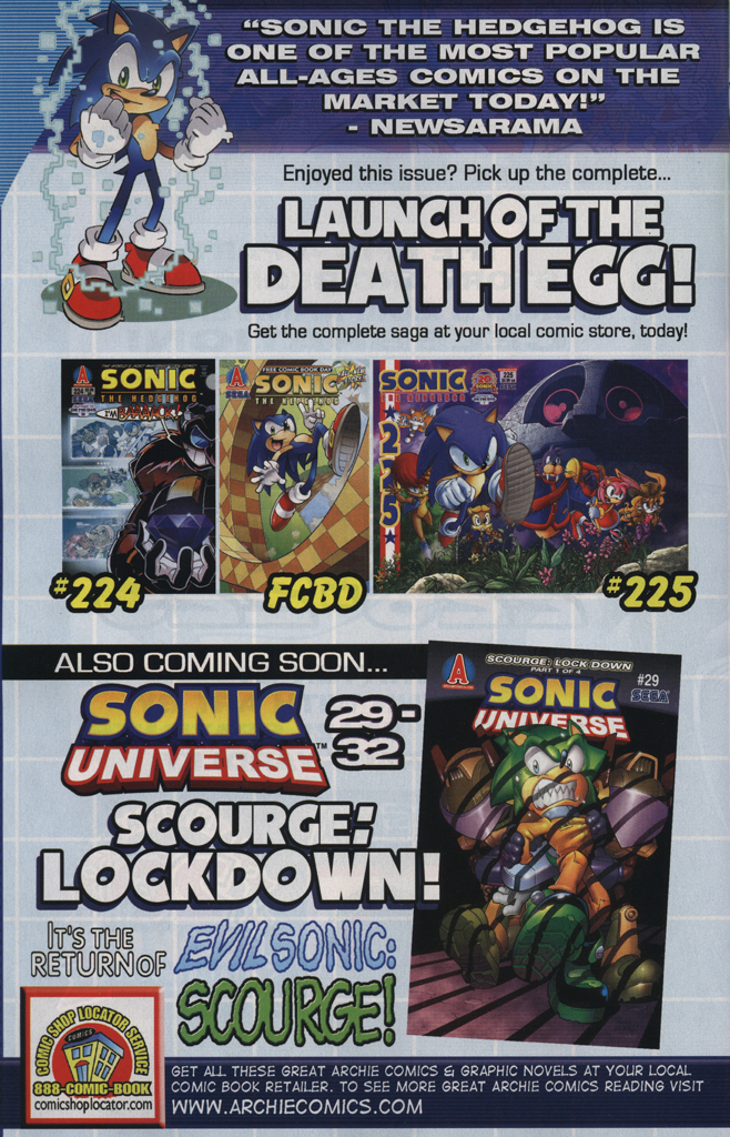 Read online Sonic the Hedgehog Free Comic Book Day Edition comic -  Issue # Special 5 - 34