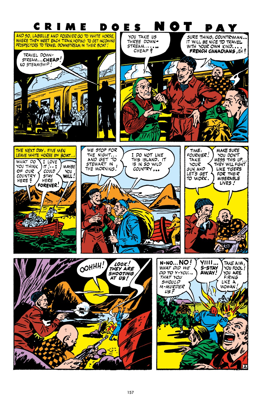 Read online Crime Does Not Pay Archives comic -  Issue # TPB 6 (Part 2) - 58