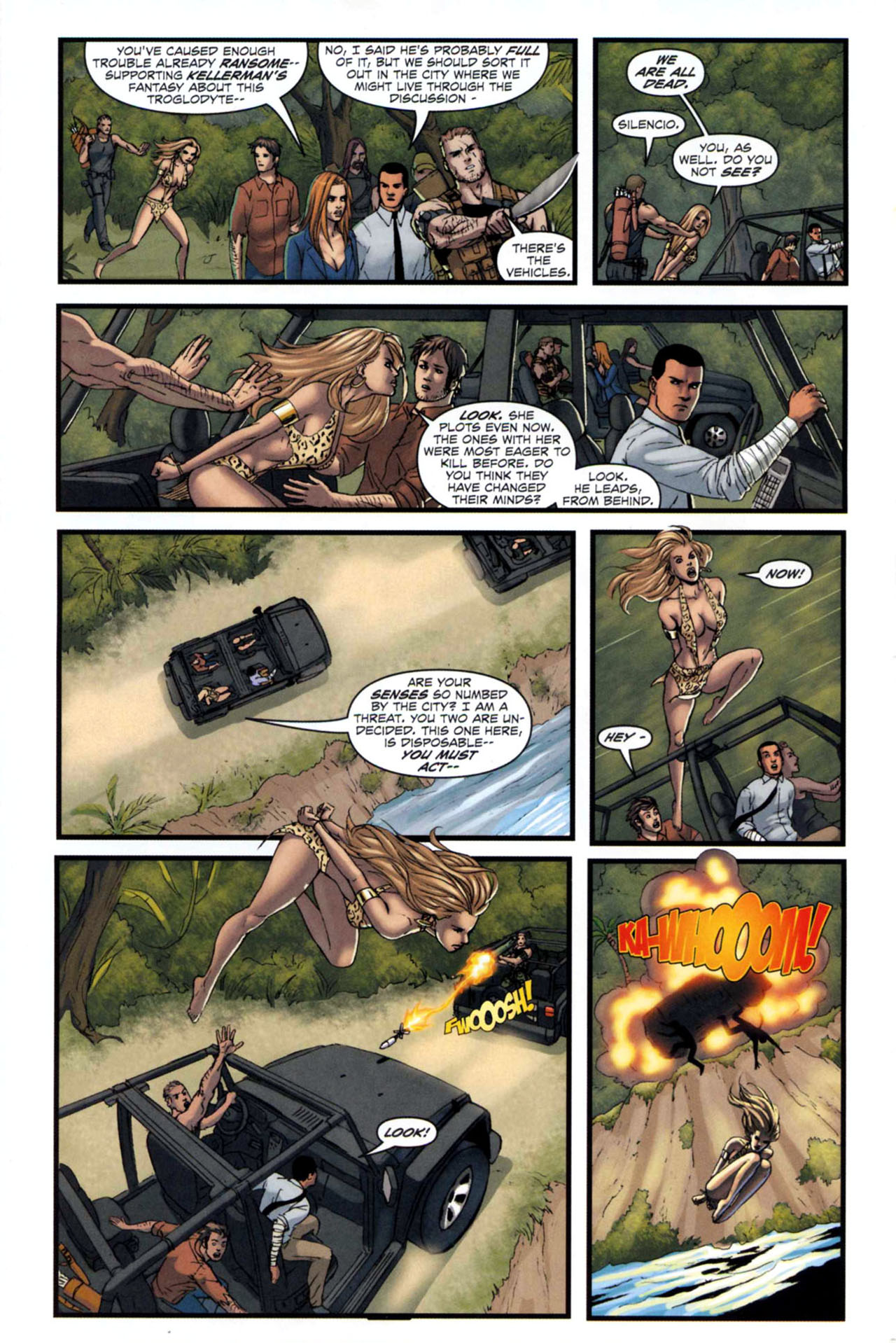Read online Sheena, Queen of the Jungle comic -  Issue #5 - 6
