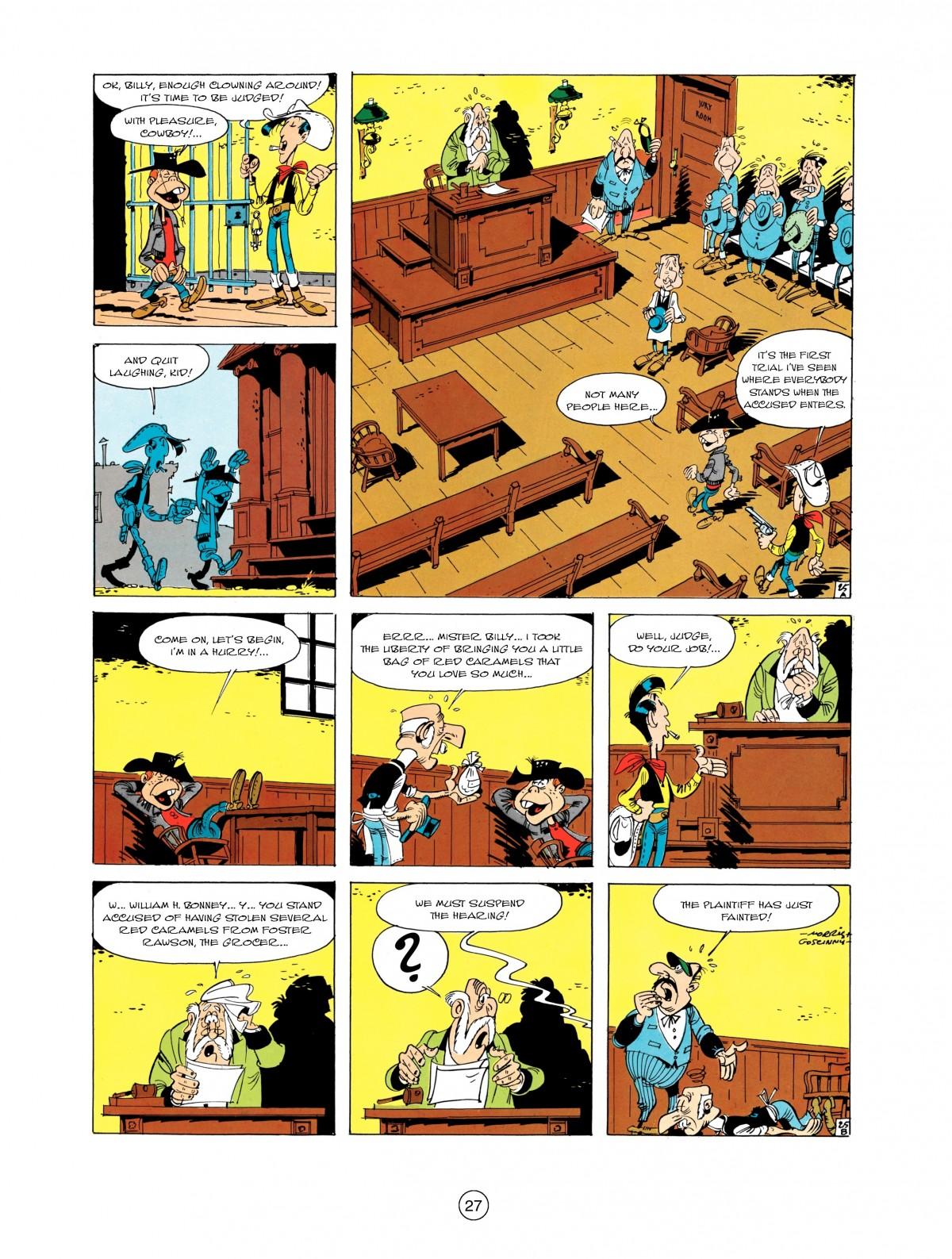 Read online A Lucky Luke Adventure comic -  Issue #1 - 29