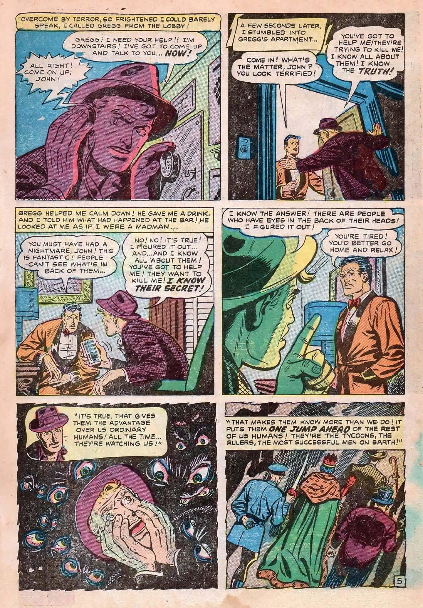 Read online Adventures into Weird Worlds comic -  Issue #2 - 15