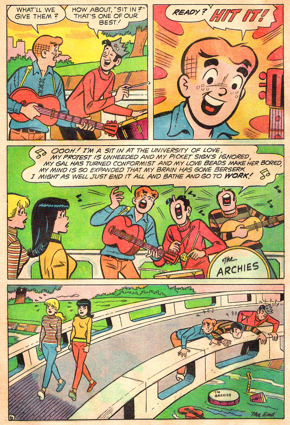 Read online Archie's Girls Betty and Veronica comic -  Issue #157 - 8
