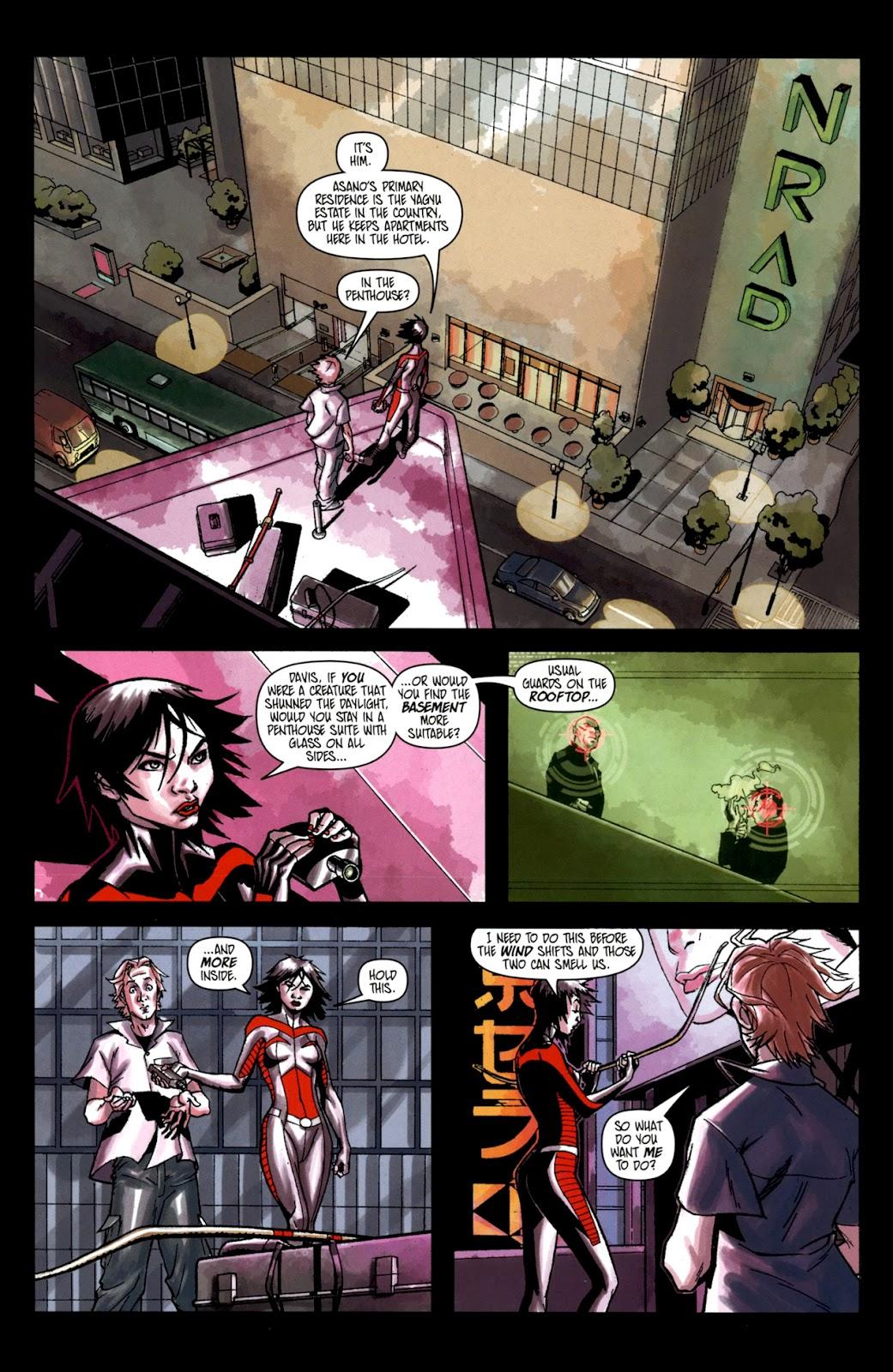 Read online Shinku comic -  Issue #2 - 6