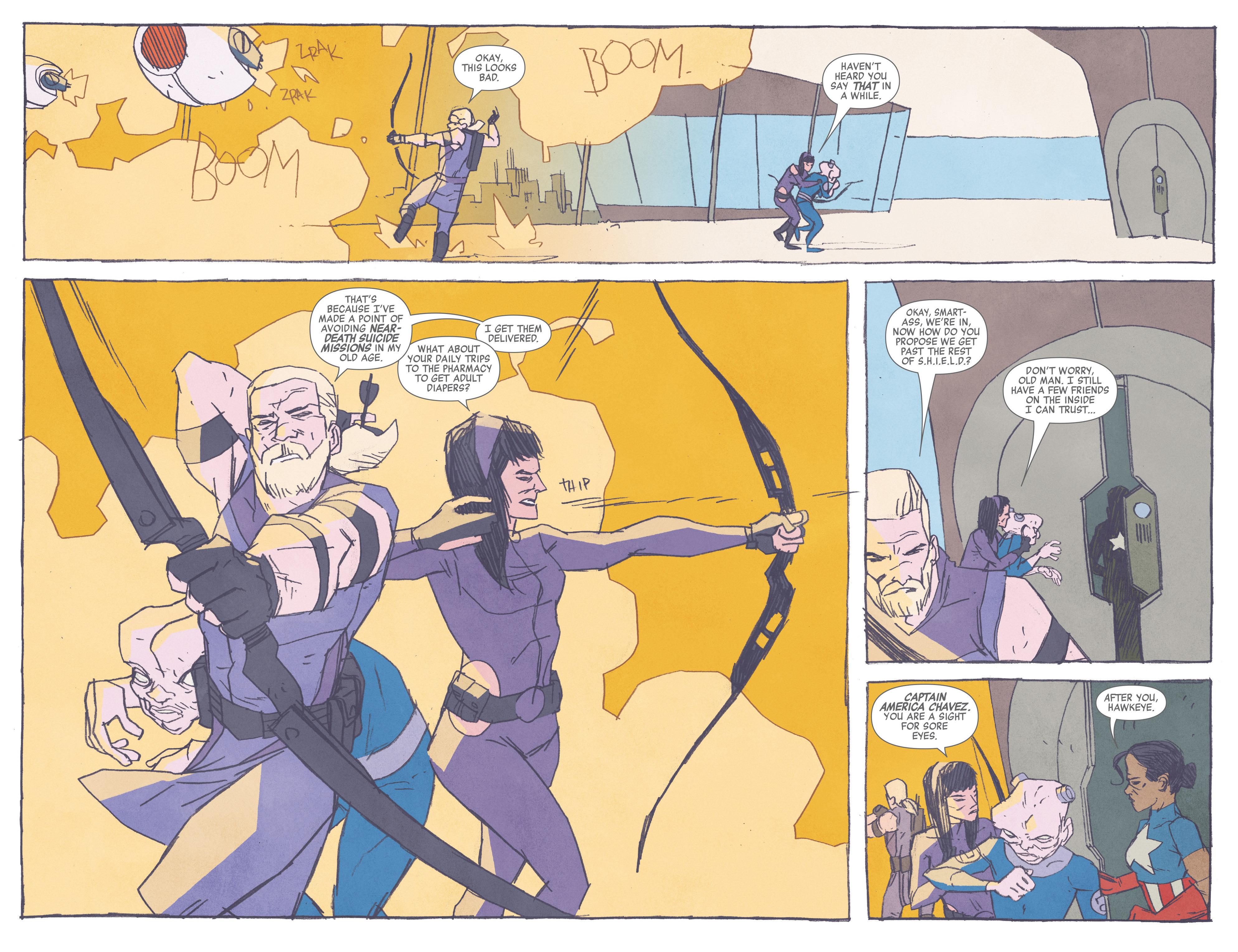 Read online All-New Hawkeye (2016) comic -  Issue #3 - 4