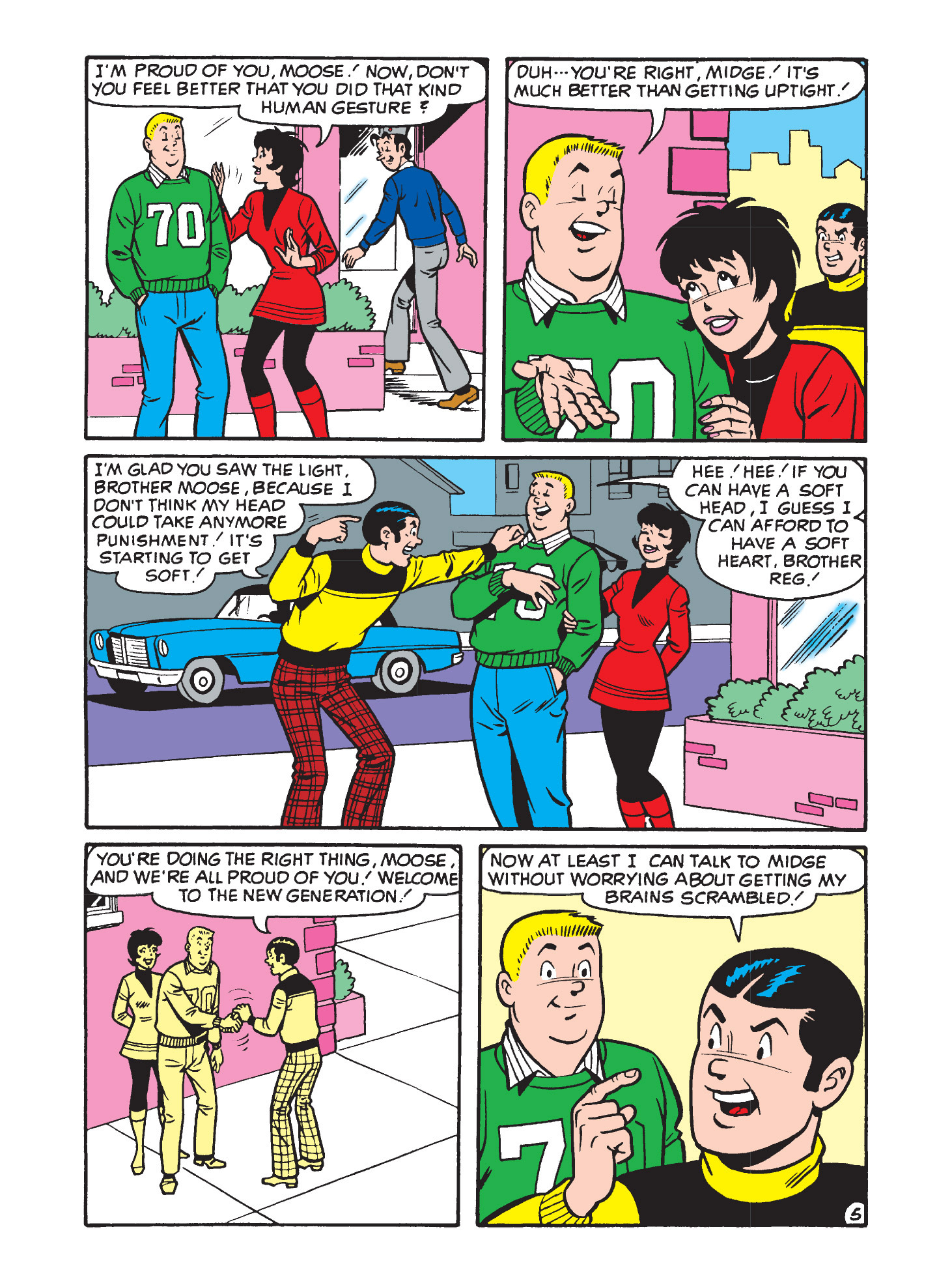 Read online Archie's Funhouse Double Digest comic -  Issue #9 - 32