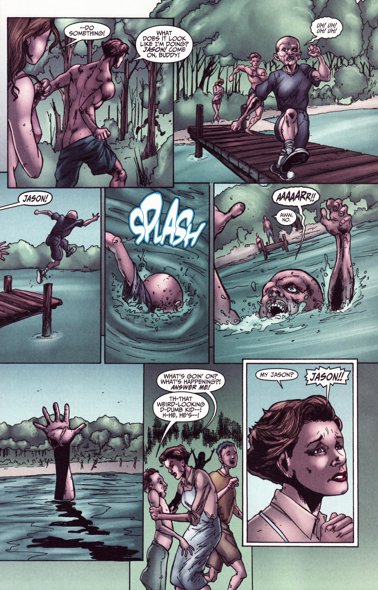 Read online Friday the 13th: Pamela's Tale comic -  Issue #2 - 21
