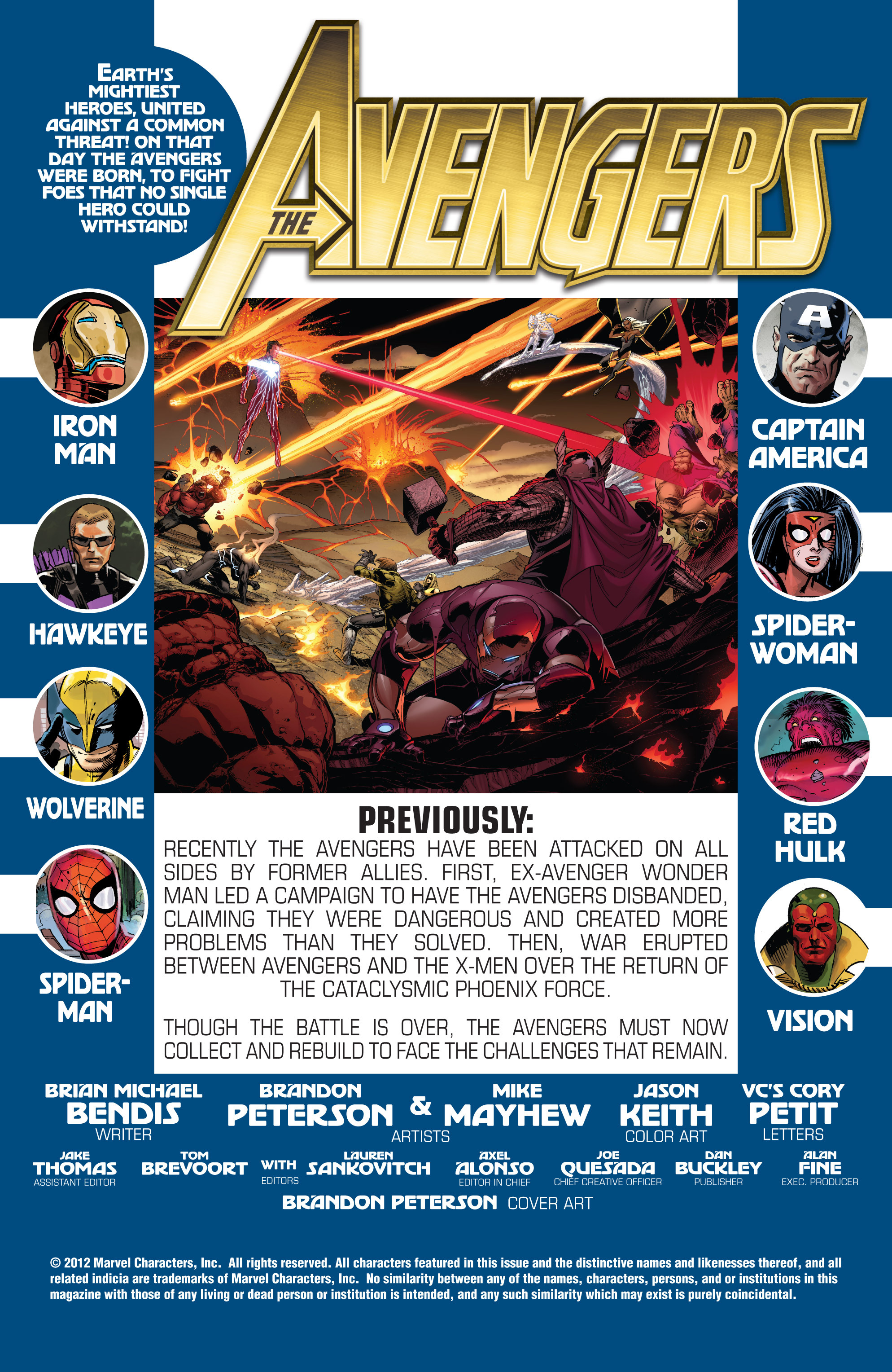 Read online Avengers (2010) comic -  Issue #31 - 2