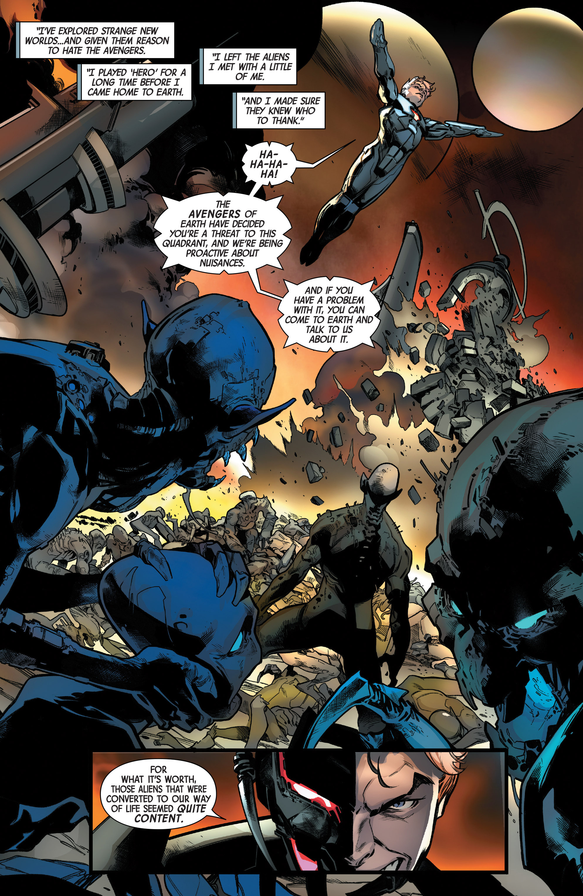 Read online Uncanny Avengers [II] comic -  Issue #12 - 13