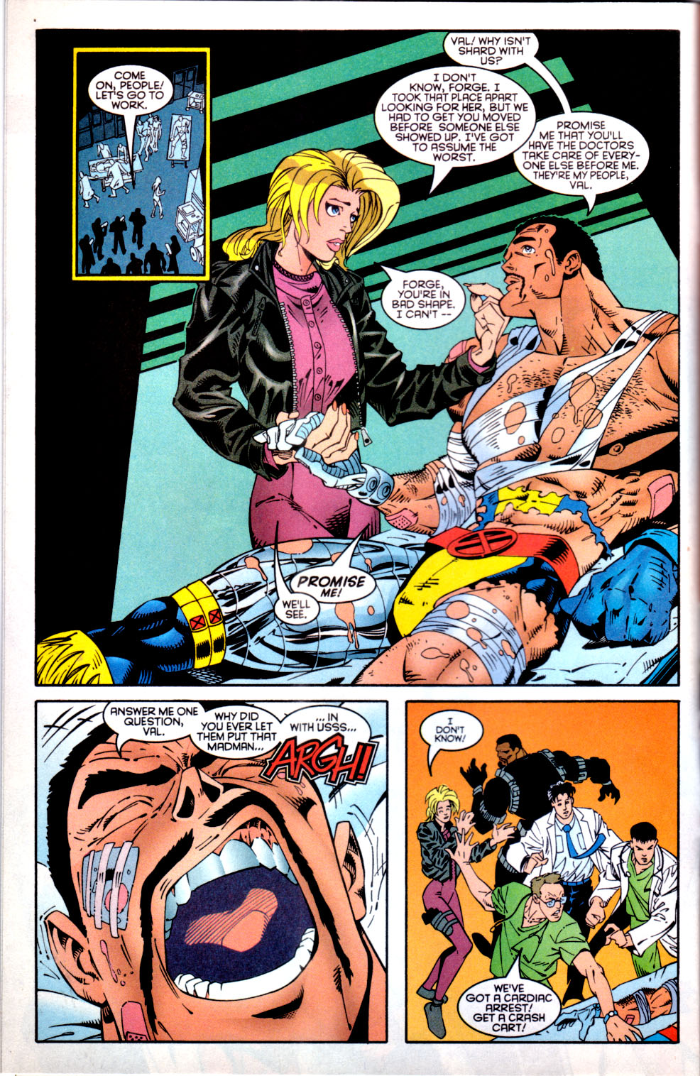 Read online X-Factor (1986) comic -  Issue #137 - 5