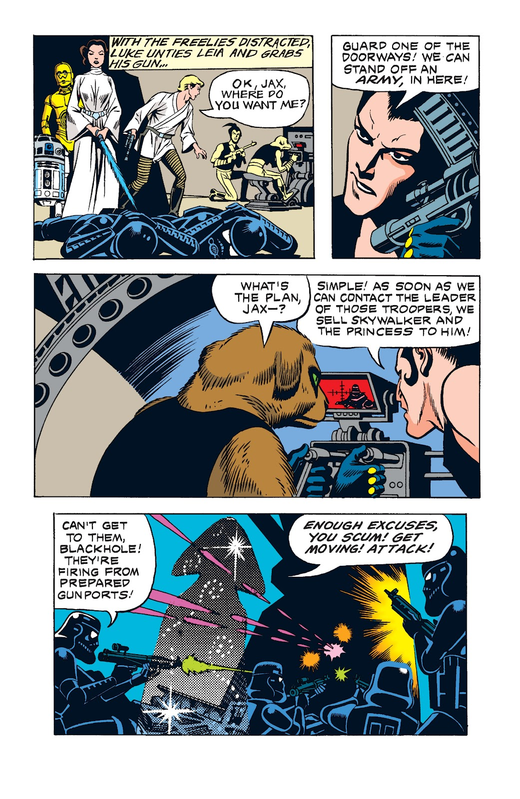 Read online Star Wars Legends: The Newspaper Strips - Epic Collection comic -  Issue # TPB (Part 2) - 15