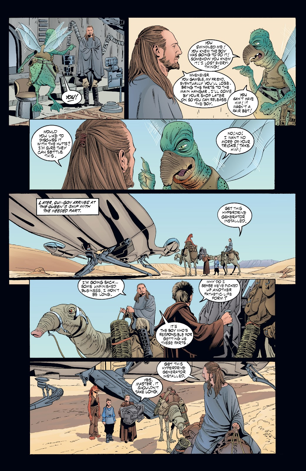 Read online Star Wars Legends: Rise of the Sith - Epic Collection comic -  Issue # TPB 2 (Part 3) - 90