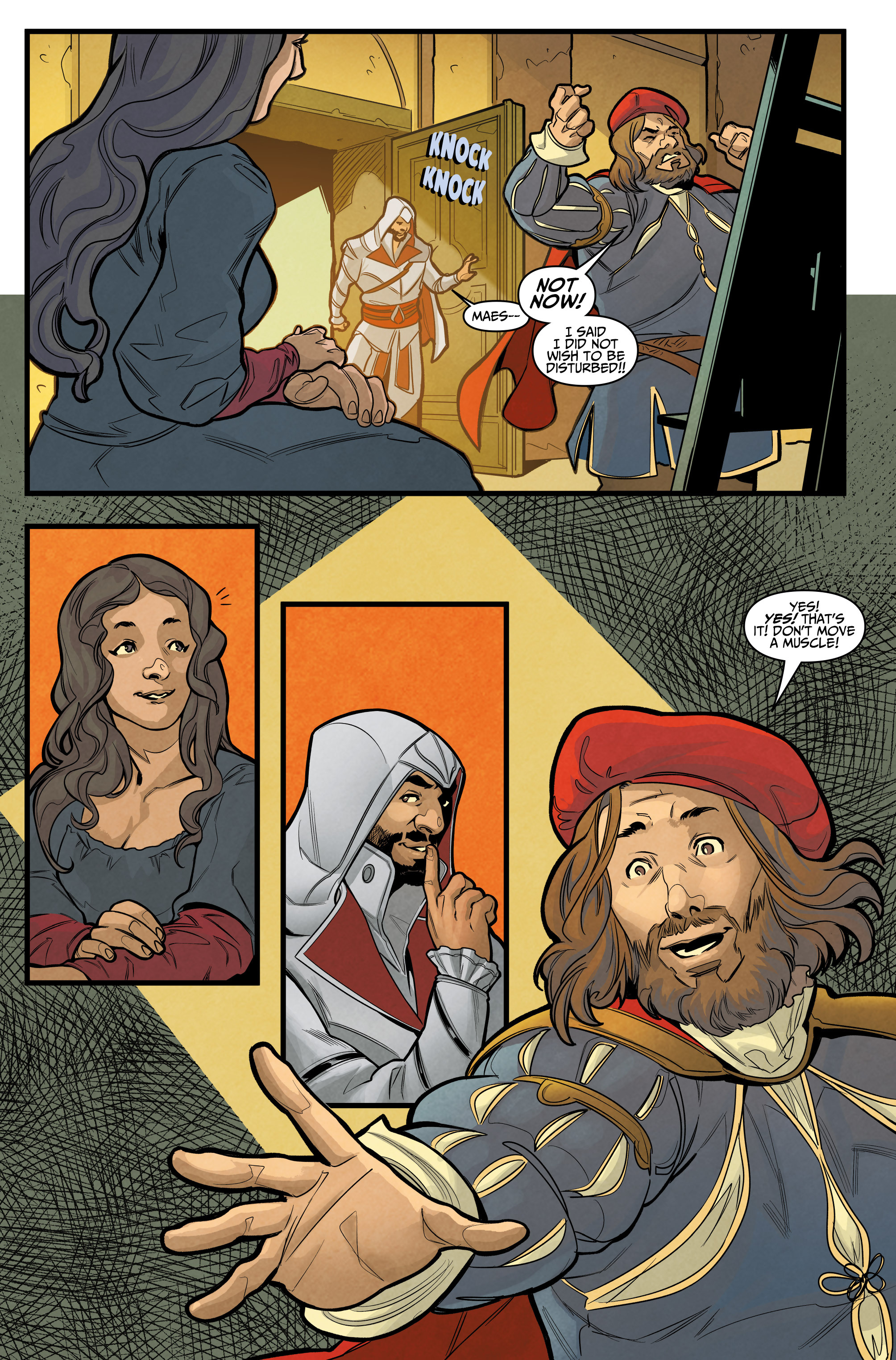Read online Assassin's Creed: Reflections comic -  Issue #1 - 22