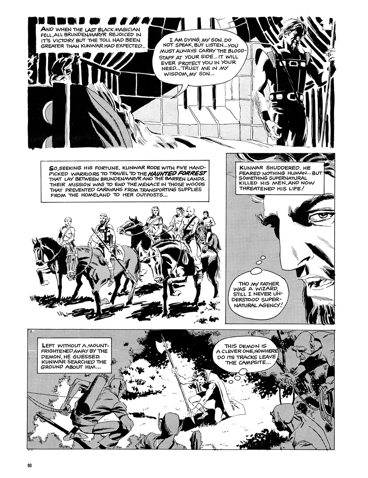 Read online Eerie Archives comic -  Issue # TPB 6 - 91