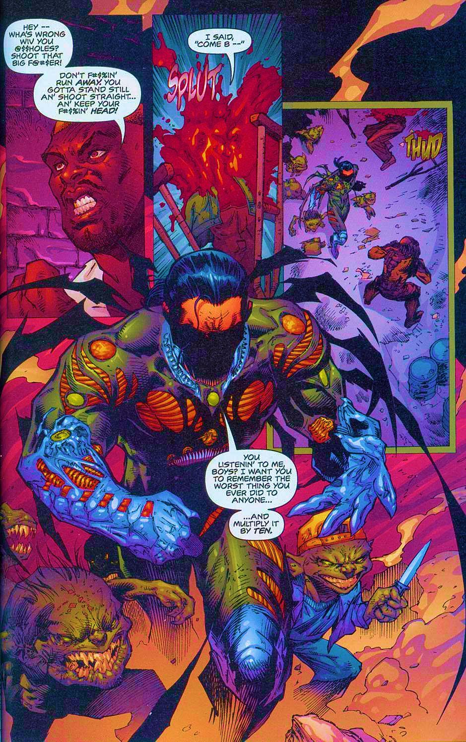 Read online Overkill: Witchblade/Aliens/Darkness/Predator comic -  Issue #2 - 28