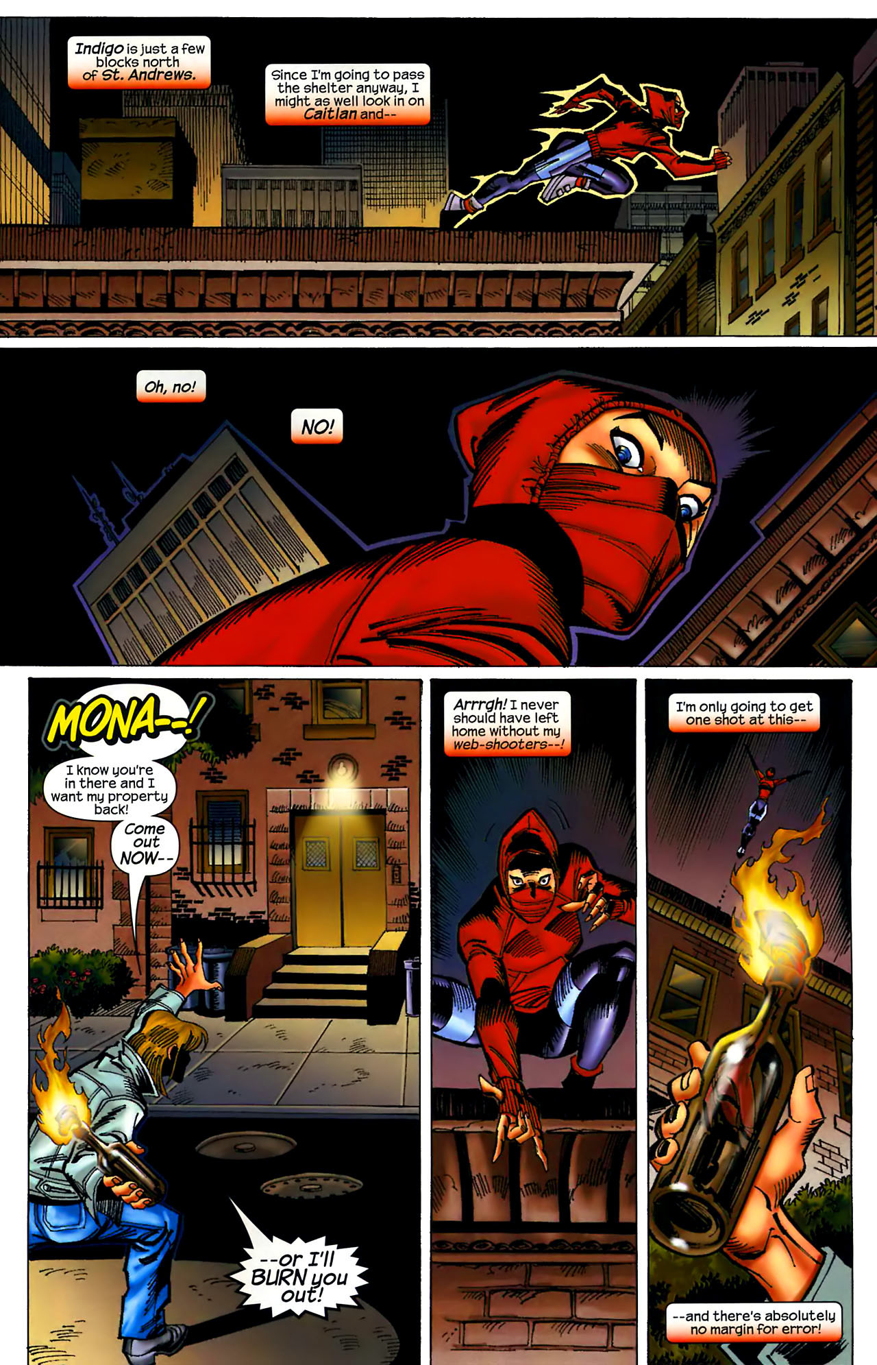 Read online Amazing Spider-Girl comic -  Issue #1 - 19
