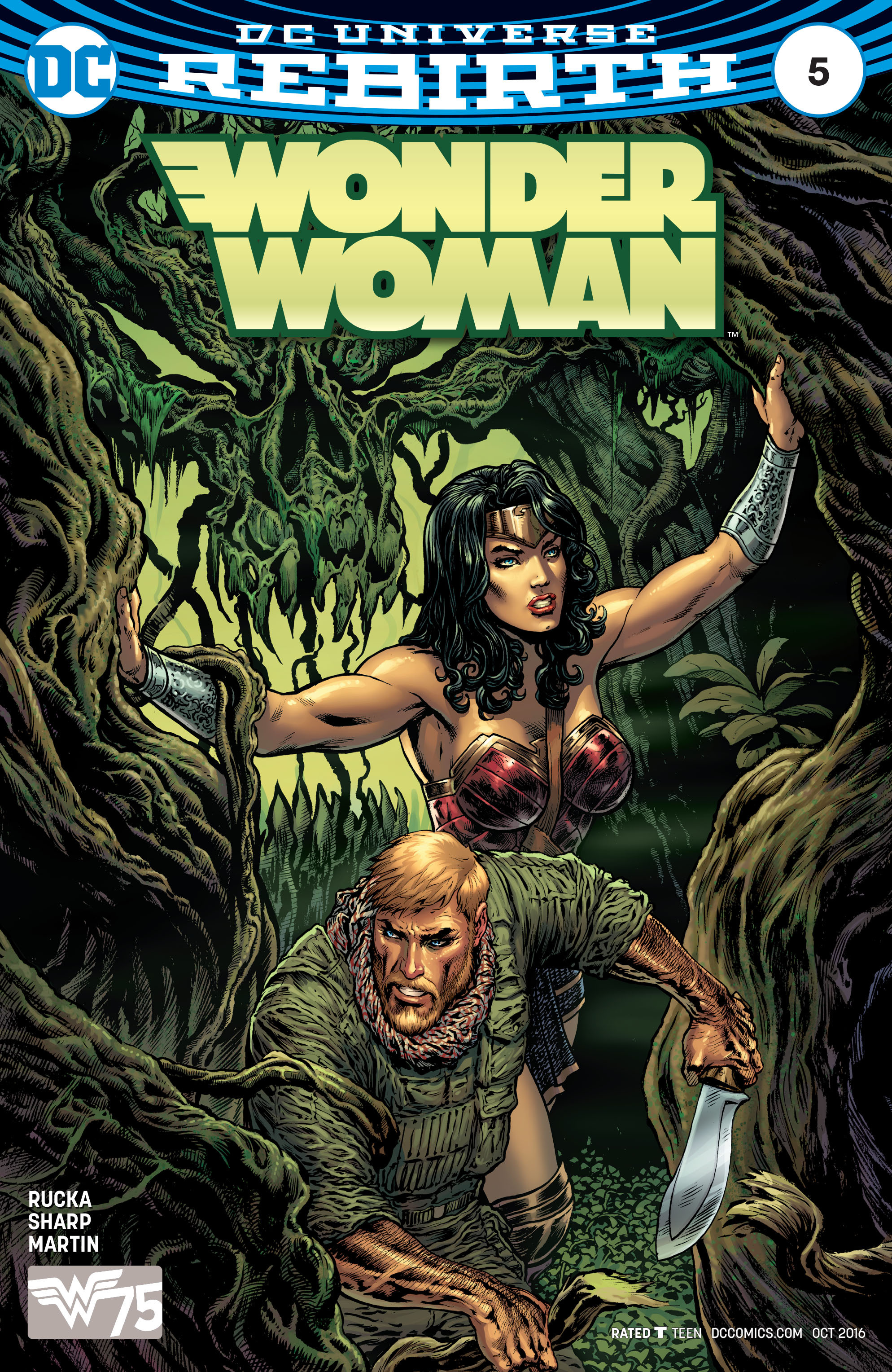 Read online Wonder Woman (2016) comic -  Issue #5 - 1