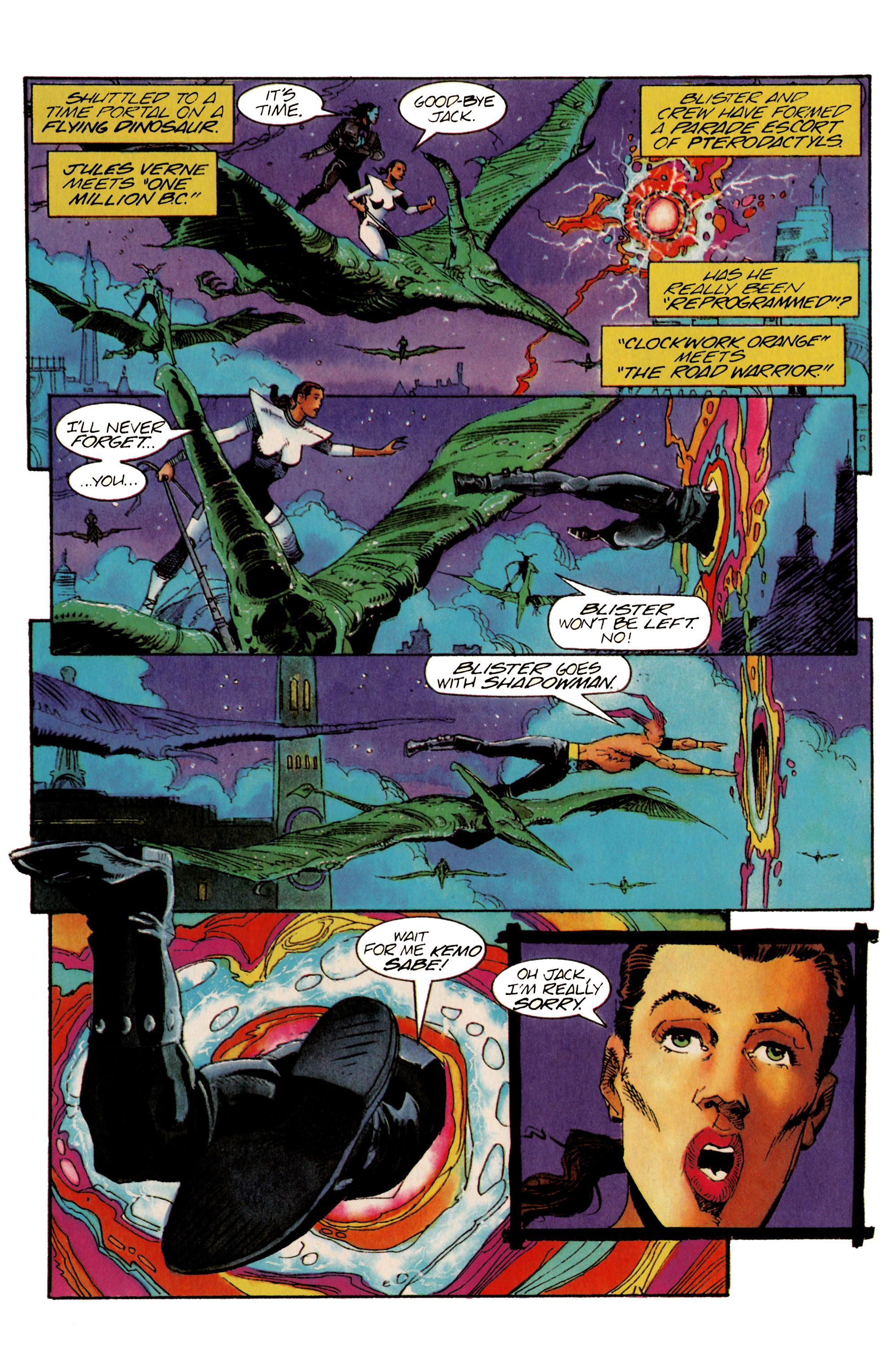 Read online Shadowman (1992) comic -  Issue #22 - 16