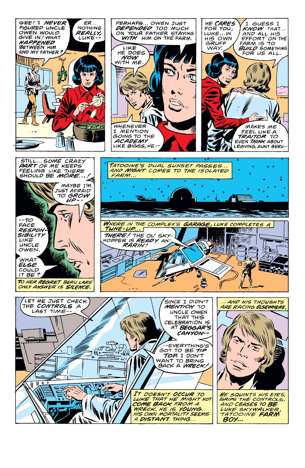 Read online Star Wars Legends: The Original Marvel Years - Epic Collection comic -  Issue # TPB 1 (Part 4) - 2