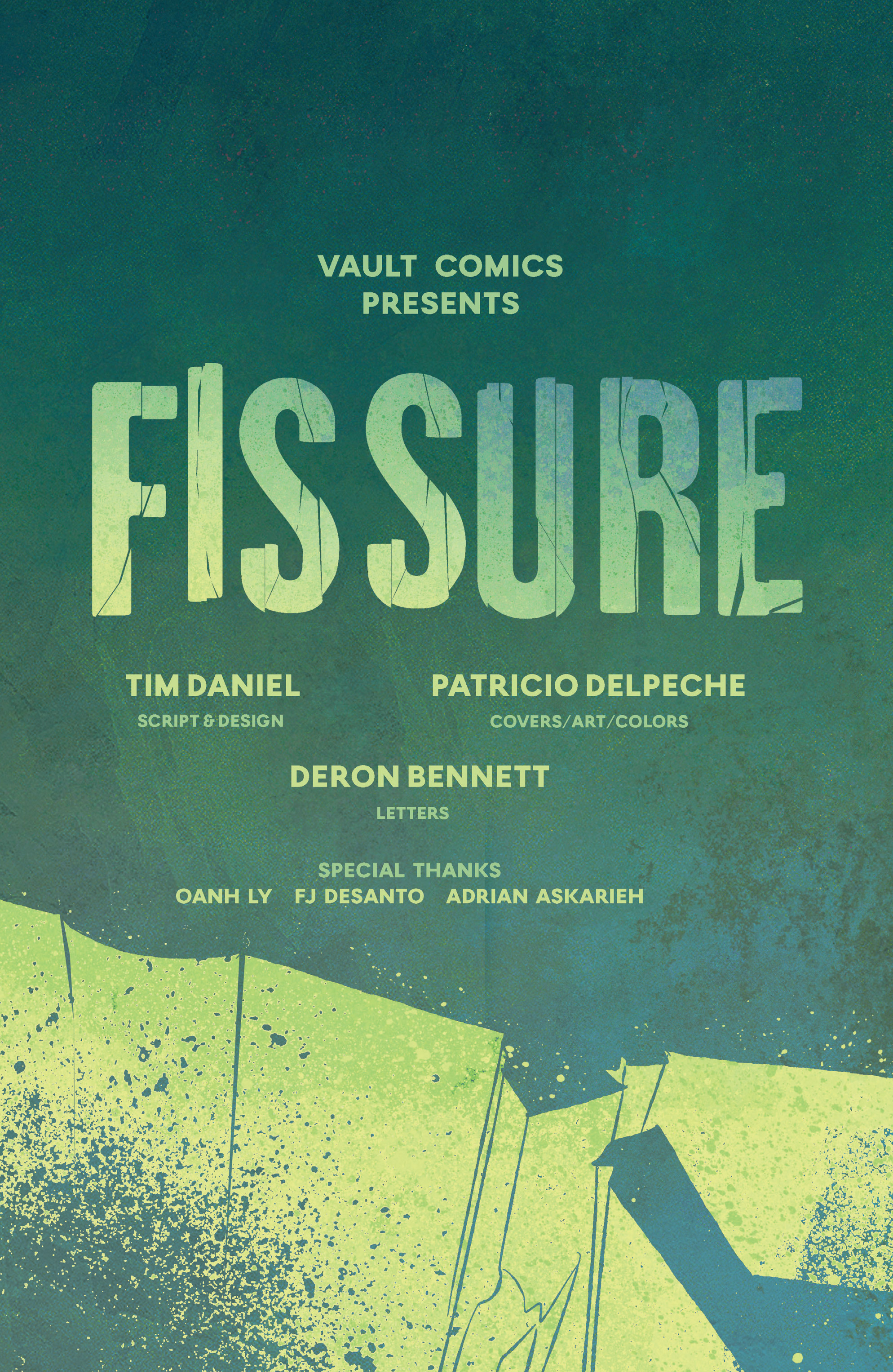Read online Fissure comic -  Issue #2 - 4