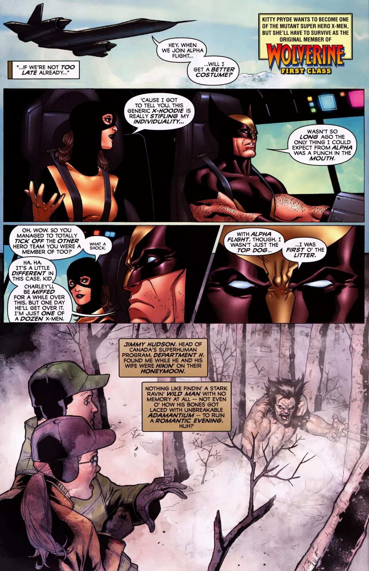 Read online Wolverine: First Class comic -  Issue #5 - 3