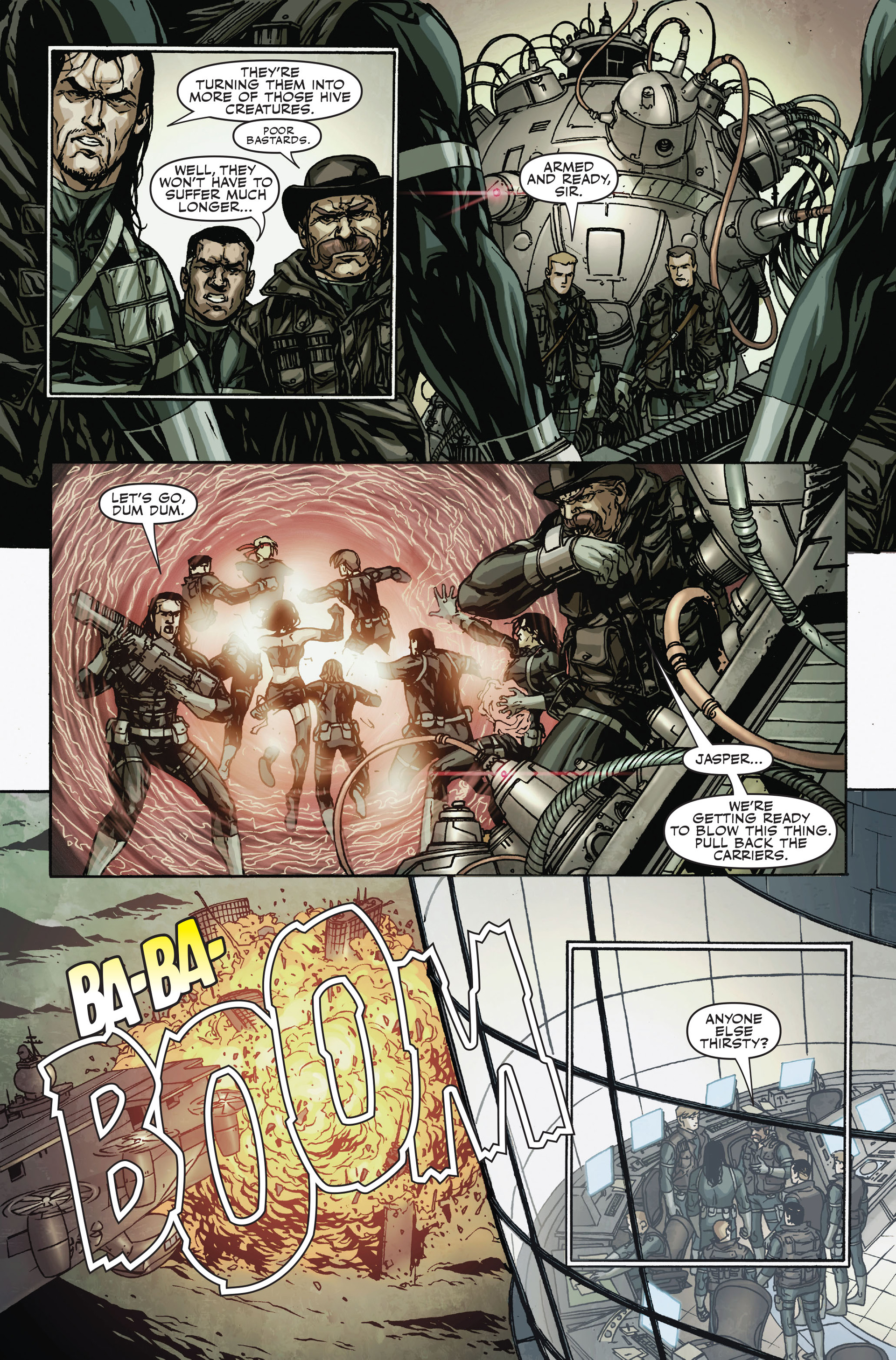Read online Secret Warriors comic -  Issue #18 - 9
