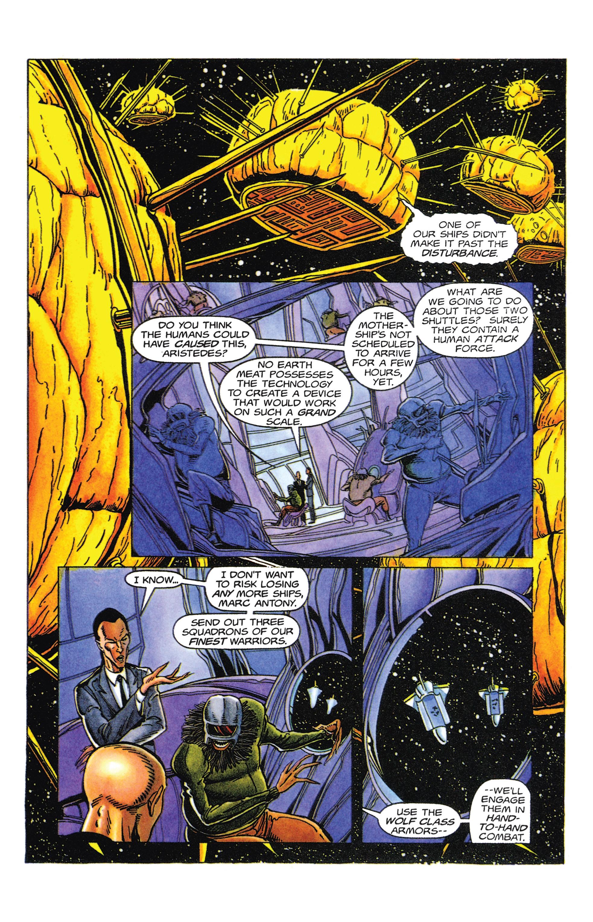 Read online Armorines comic -  Issue #5 - 10