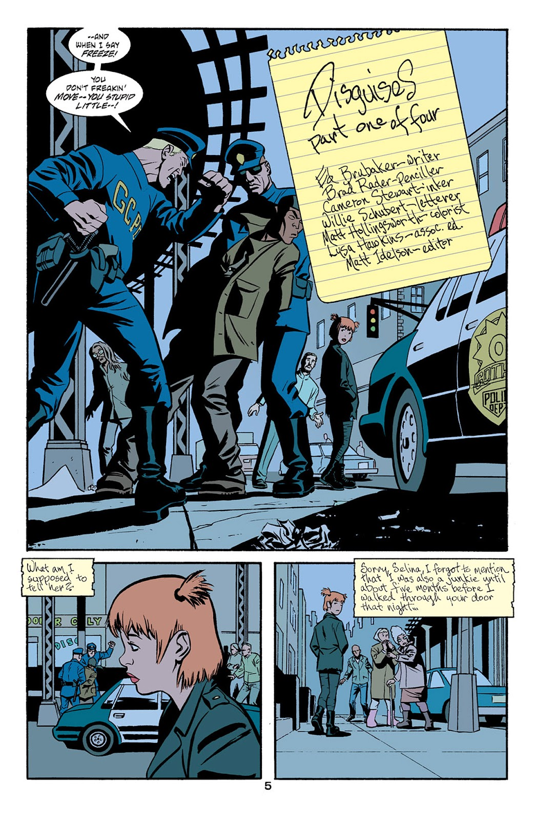 Catwoman (2002) Issue #6 #6 - English 6